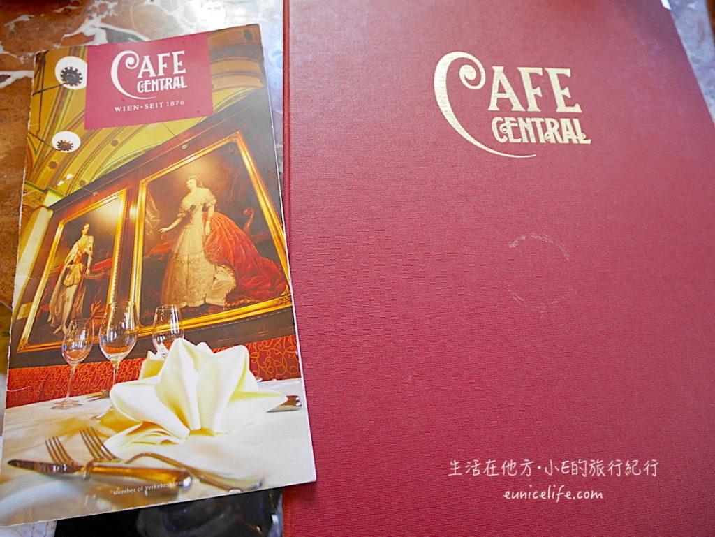 vienna cafe central menu