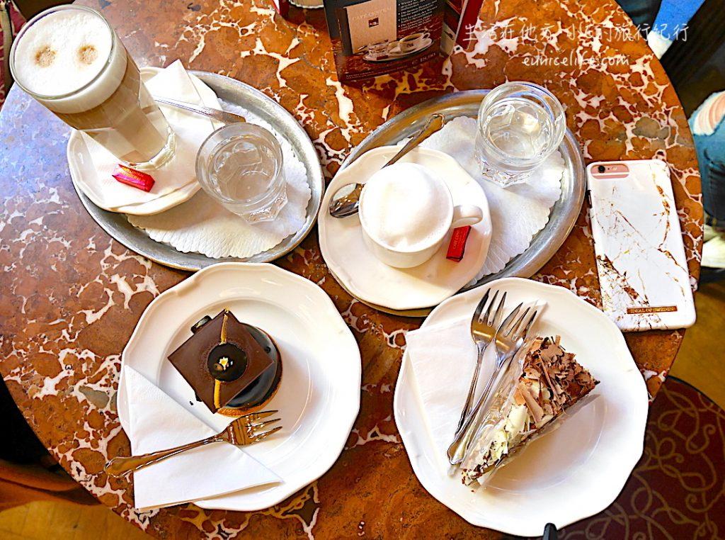 vienna cafe central cake